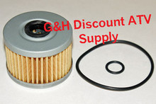 2007-2011 Honda TRX420 Rancher (non IRS) Oil Filter with O-Rings *FREE U.S. SHIPPING*