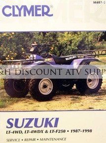 suzuki lt230 lt250s clymer repair manual g h discount atv supply rh ghdiscountatvsupply com Suzuki 2 Stroke Quad Suzuki LT230 Quadrunner