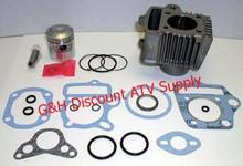 Honda ATC 70 ATV TRX Engine Motor Top End Rebuild Kit-Cylinder Machining Service, Piston Kit and Top End Gasket Set