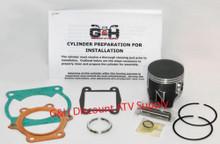 Yamaha YFS 200 Blaster Engine Motor Top End Rebuild Kit & Cylinder Machining Service