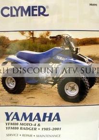 Yamaha YFM80 Badger Moto-4 CLYMER Repair Manual