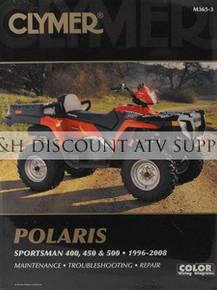 Polaris Sportsman & Xplorer 400 450 500 Repair Manual!