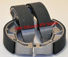 1991-2001 2 Sets of Front Brake Shoes Suzuki LTF160 Quadrunner