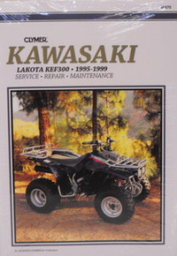 1995-1999 Kawasaki KEF 300 Lakota CLYMER Repair Manual