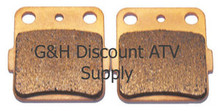 2008-2010 Kawasaki KFX 450R Quad Sintered Copper Rear Brake Pads *FREE U.S. SHIPPING*