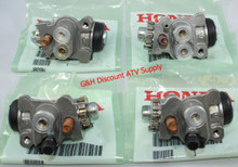 NEW OE Honda 1999-2003 Honda TRX 400 Foreman FW 4x4 SET of FOUR Front Brake Wheel Cylinders *FREE U.S. SHIPPING*