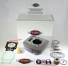 NEW TOP QUALITY HONED 2000-2006 Honda TRX 350 Rancher Engine Motor Cylinder Top End Rebuild Kit