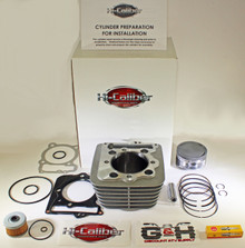 1996-2004 Honda XR400R 440cc 89mm BIG BORE Cylinder Top End Rebuild Kit