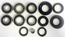 COMPLETE Rear Differential & Axle Tube Bearing & Seal Kit 2005-2014 Honda 500 Foreman Rubicon *FREE U.S. SHIPPING*