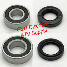 1988-1992 Honda TRX300 2x4 Fourtrax Front Wheel Bearings & Seals Kit *FREE U.S. SHIPPING*