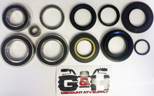 COMPLETE Rear Differential & Axle Bearing Seal Kit for 2007-2013 Honda TRX 420 Rancher ATV