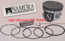 Namura Piston Kit (Standard, 2nd, 4th, or 6th Oversize) for Kawasaki 300 Bayou, 300 Lakota & 300 Prairie ATVs