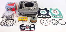 NEW QUALITY Cylinder Top End Rebuild Kit for the 1988-2000 Honda TRX 300 Fourtrax FW 4x4 & 2x4 four-wheelers
