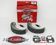 WATER GROOVED Rear Brake Shoes & Springs for 1978-1985 Honda ATC 70