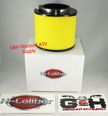 NEW 2004-2007 Honda ATV TRX 400 Rancher 2 Stage Foam Air Cleaner Filter & Clamp *FREE U.S. SHIPPING*