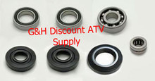 1988-2000 Honda TRX300 4x4 FW Fourtrax Front Differential Bearings & Seals Kit *FREE U.S. SHIPPING*