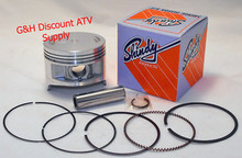 Shindy Piston Kit (1st or 3rd Oversize) for Kawasaki 300 Bayou, 300 Lakota & 300 Prairie ATVs