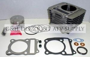 suzuki lt 230 230e 230ge quadrunner top end rebuild kit & cylinder
