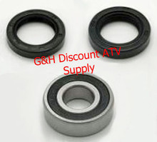 1988-1992 Honda TRX300 2x4 Steering Stem Shaft Bearings Seals Kit *FREE U.S. SHIPPING*