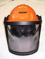 Echo Safety SUSPENSION HELMET W/EARMUFFS SHIELD SCREEN 99988801500 steel mesh NEW OEM
