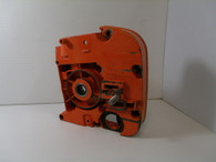 Stihl Chainsaw  010AV Crankcase 1/2 Bar side orange  used