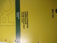 John Deere Parts Catalog 2500 Power Reset Moldboard Plows -ORIG