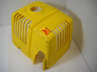McCulloch Trimmer Muffler Engine Cover YELLOW  285 2815 2816 3225 FR56 FR17 used