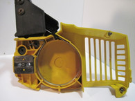 McCULLOCH Chainsaw Chain Brake Clutch Cover w/ Handle Yellow  FR2.3  MacCAT 2116 3516 Used