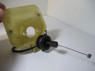 Poulan / Pro Chainsaw Filter Mount W/ Throttle Cable  220 221 260 2450 2550 2775 2900 Used