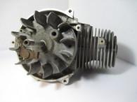 Jonsered Olympyk Efco Engine Short Block Cylinder w/ flywheel  200 220 260 Red  used