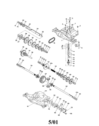 AYP Craftsman Foote Spicer  Foote 4360-128 Transaxle 25T 3783A Spur Gear 108980X  170269