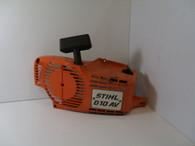 Stihl Chainsaw  010AV orange Side Cover Recoil  used