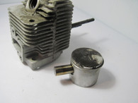 McCulloch Trimmer Piston & Cylinder  Mac 60 65 80 15RT Titan 2000 Used