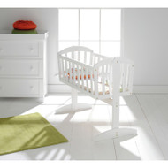 East Coast Vienna Swinging Crib White