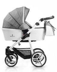 Venicci Pure Collection 3in1 Travel System - Denim Grey