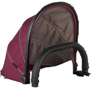 iCandy Peach Main Carrycot Claret Companion
