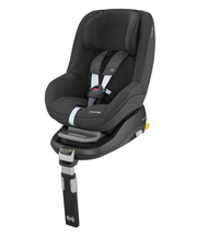 Maxi-Cosi Pearl Car Seat + familyfix Package Deal- Nomad Black