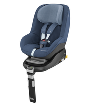 Maxi-Cosi Pearl Car Seat + familyfix Package Deal- Nomad Blue