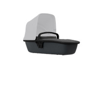 Quinny Lux Carrycot - Black on Graphite