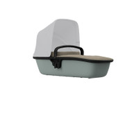 Quinny Lux Carrycot - Sand on Grey