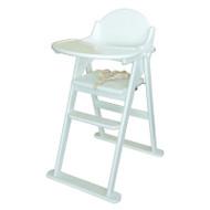 East Coast Folding Highchair - White
