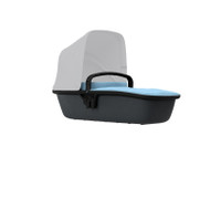 Quinny Lux Carrycot - Sky on Graphite