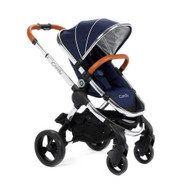 iCandy Peach Pushchair - Royal + Carrycot + Maxi-Cosi Cabriofix Car Seat + Universal Adapters