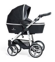 Venicci Silver Edition 2 in 1 - Black  + Cabriofix car seat + 2wayfix base + Maxi cosi adaptors