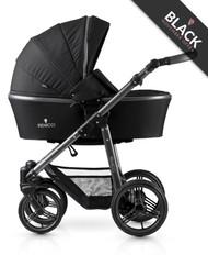 Venicci Carbo 3 in 1 Travel System - Black