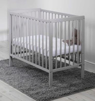 East Coast Carolina Space Saving Cot with Mattress - Grey