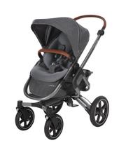 Maxi-Cosi Nova Pushchair + Maxi-Cosi Oria Carrycot + Maxi-Cosi Pebble Plus Car Seat - Sparkling Grey 4 Wheel
