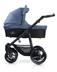 Venicci Soft Edition 3 in 1 Travel System - Denim Blue