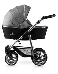 Venicci® Silver 3 in 1 Travel System  - Denim Grey