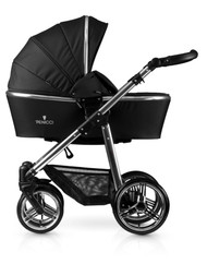 Venicci® Silver 3 in 1 Travel System  - Black